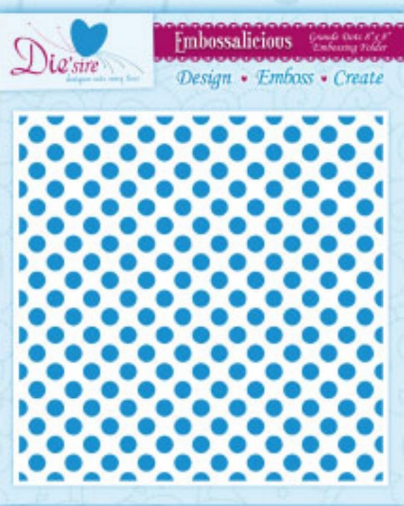grand dots 8x8 crafters companion embossalicious